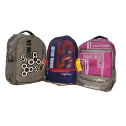 Polyester Waterproof Shoulder Backpack, Capacity: 26L, Size: 19*12.5*6.5