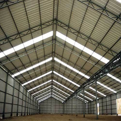 Steel Fabrication Services: Steel Sheds Fabrication Services In India, Rs 70 /kg U. N
