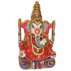 Metal Open Ganesha Statue