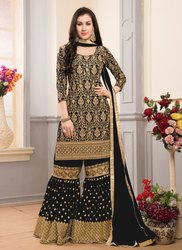 Heavy Work Wedding Sharara Suits