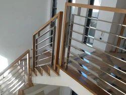 Standard Silver Stainless Steel Balustrade