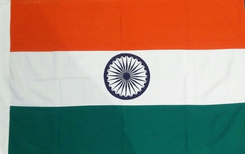 4 X 6 Ft Indian National Flag (outdoor) 100% Pure Cotton