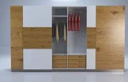 Plywood Wooden Modular Wardrobes