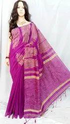 cotton silk gheecha temple handloom saree
