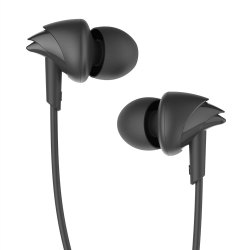 Boat Bassheads 100 Hawk Inspired Earphones With Mic (Black)