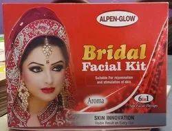 Herbal Ayurvedic Alpen- Glow Bridal Facial Kit 310gm, For Parlour