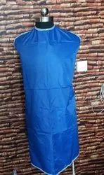 Blue Cotton Apron, Size: Free Size