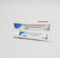 Ofloxacin Ornidazole Itraconazole and Clobetasol Propionate Cream
