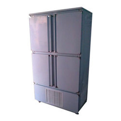 Stainless Steel Upright Chiller Freezer, Electric 1000 L