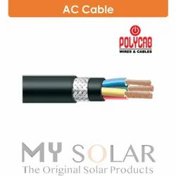 Poly cab Copper AC Cable, For Solar Rooftop