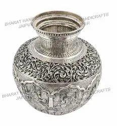 German Silver Ashtamangal Kalash