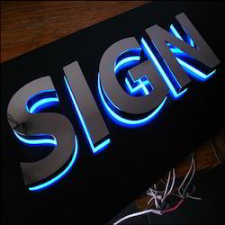 Solid Acrylic LED Letter