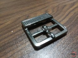 25mm Brass Square Buckles Black Nickel