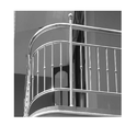 Panel Stainless Steel Balcony Railing
