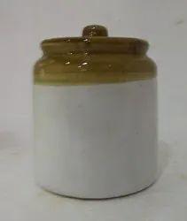 Glaze Pickle Set White Medium