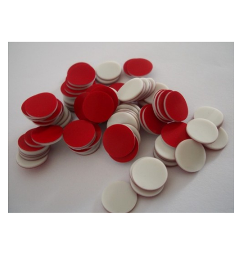 Silicon Red And White Vial Seals