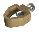5/8 Inch Metal Rod To A Tape Clamp, Code: Ai04-rtc - 1