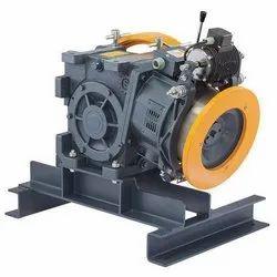 Geared Elevator Traction Machine