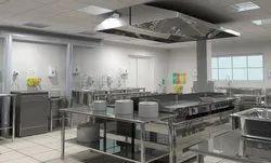 Modern Institutional Kitchen Designing Service
