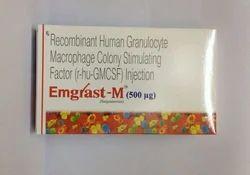 Emgrast M 500 mcg Injection