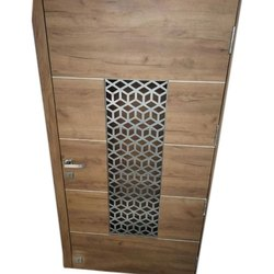 Powder Coated SS Laser Cutting Safety Door Grill