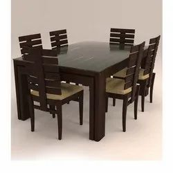 6 Seater Dining Table Set Rs 25000