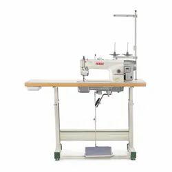 8801 E USHA Industrial Single Needle Sewing Machine, For Heavy Material, Automatic Grade: Semi-Automatic