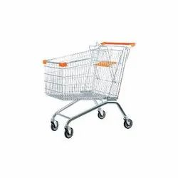 Stainless Steel Shopping Trolley