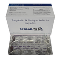 Pregabalin And Methylcobalamin Drug Capsules, Prescription