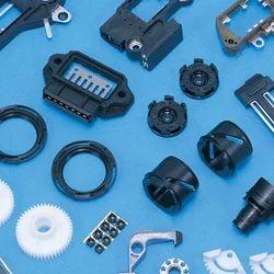 Black Machined Plastic Component