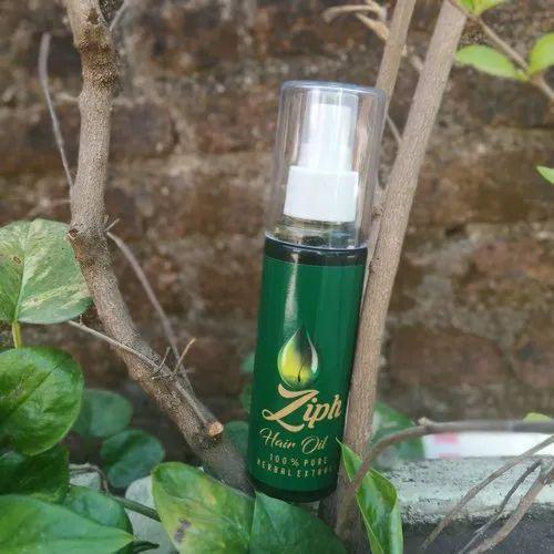 Ziph Herbal Hair Treatment Oil, Pack Size: 120 mL