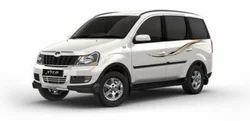 Bold Black Mahindra XUV500 Cars