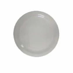 Viva White Dinner Plate, Size: 11 Inch