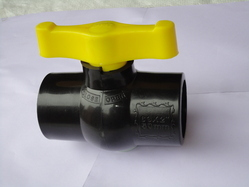 PP Solid Black Valve