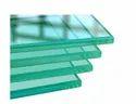 Transparent 10-50 Square Feet Toughened Glass, Shape: Flat