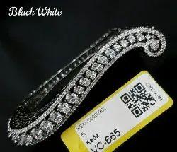 Brass American Diamond Ladies Kada