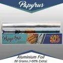 Papyrus Silver Aluminium Foil - 50 Grams, Packaging Type: Roll