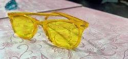 Men Yellow Sunglasses