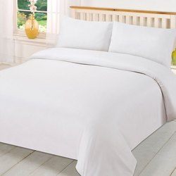 White Plain Bed Sheets