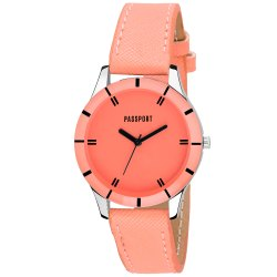 Orange Ladies Watch