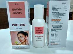 Prethin Permethrin Lotion, Packaging Size: 50ml, Packaging Type: Bottle
