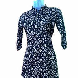 Ladies Cotton Printed Top