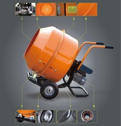 Mobile Concrete Mixture Machine