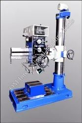 Semi-Automatic Radial Drilling Machine