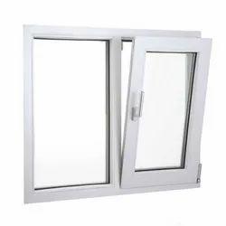 Modern White Aluminum Tilt Open Window