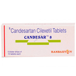 Candesar 8 Mg Tablets