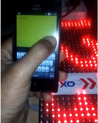 Digital Display Board Controlled Through Mobile App