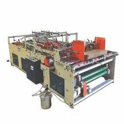 Semi Auto Lock Bottom Pasting Machine