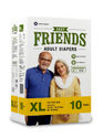 Friends Easy Adult Diapers - XL
