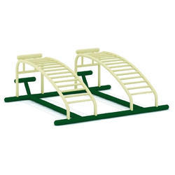 Double Sit Up Board - Outdoor Gym Equipment